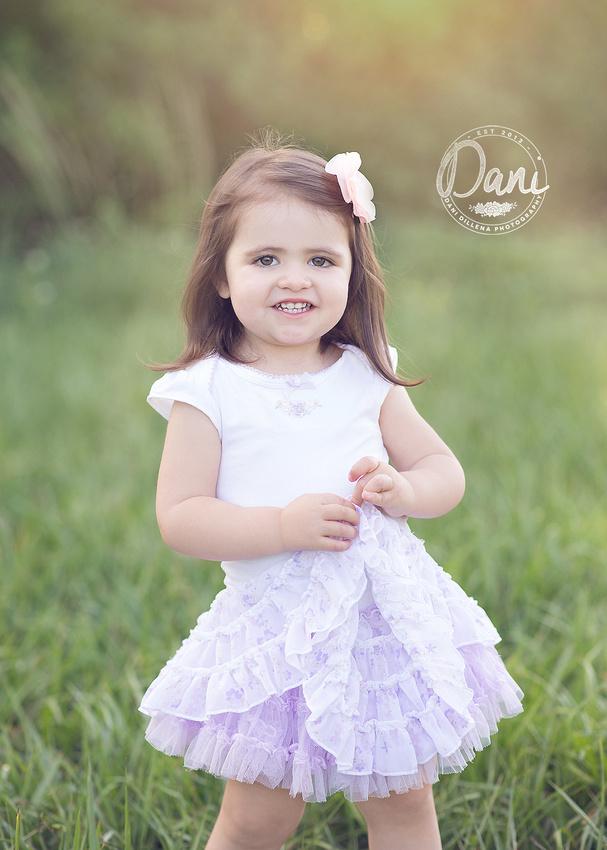beautiful 2 year old photographed by dani dillena in weston